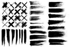 Cepillos y marcas de la cruz libre illustration