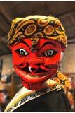 Cepot,一只传统巽他人手制作了木木偶 免版税库存图片