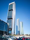 Cepsa tower in Madrid. Stock Photo