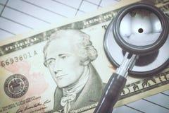 CEPT médica y del negocio de la estafa Fotografía de archivo libre de regalías