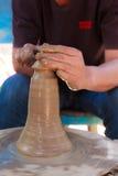 Cerámica de cerámica de la arcilla Foto de archivo libre de regalías