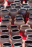 Cerámica de cerámica hecha a mano Fotos de archivo libres de regalías