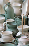 Cerámica de la cerámica de la arcilla Fotos de archivo
