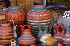 Cerámica de New México fotografía de archivo libre de regalías