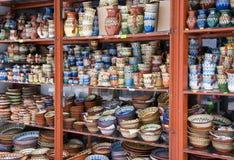 Cerámica del búlgaro de la tradición fotos de archivo libres de regalías