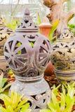 Cerámica en el jardín Imagen de archivo libre de regalías