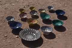 Cerámica en Marruecos Imagenes de archivo