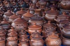 Cerámica, loza de barro, clayware, loza, gres fotografía de archivo libre de regalías
