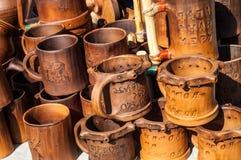 Cerámica, loza de barro, clayware, loza, gres imagen de archivo libre de regalías