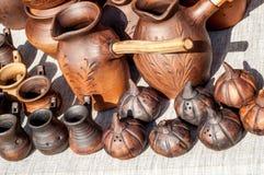 Cerámica, loza de barro, clayware, loza, gres imágenes de archivo libres de regalías