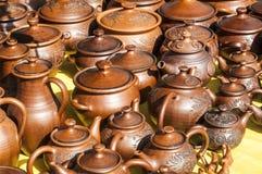 Cerámica, loza de barro, clayware, loza, gres fotos de archivo libres de regalías