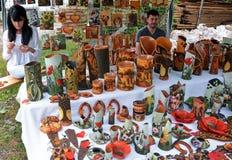Cerámica rumana tradicional Imagenes de archivo