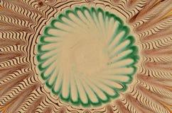 Cerámica rumana tradicional Fondo abstracto, simetría libre illustration