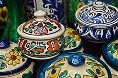 Cerámica tradicional rumana 11 fotos de archivo libres de regalías