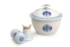 Cerâmica chinesa Foto de Stock