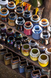 Cerâmica colorida Imagens de Stock Royalty Free