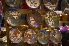 Cerâmica com Vlad o Impaler foto de stock royalty free
