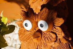 Cerâmica da coruja Imagens de Stock