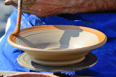 Cerâmica da pintura Fotografia de Stock