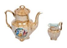 Cerâmica da porcelana Fotos de Stock
