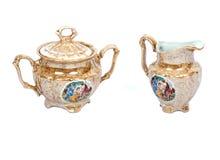 Cerâmica da porcelana Imagens de Stock Royalty Free