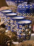 Cerâmica de Boleslawiec, Foto de Stock Royalty Free
