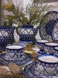 Cerâmica de Boleslawiec, Fotografia de Stock Royalty Free
