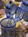 Cerâmica de Boleslawiec Imagem de Stock