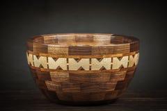 Cer?mica de madeira bonita imagens de stock royalty free