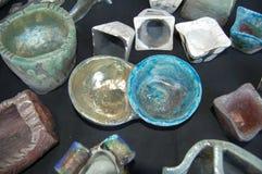Cerâmica de Raku Fotos de Stock