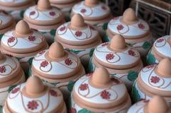 A cerâmica de Sayong Imagens de Stock Royalty Free