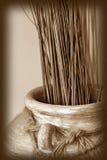 Cerâmica do nativo americano imagem de stock royalty free