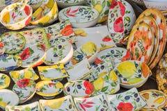 Cerâmica em Toscânia imagem de stock