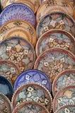 Cerâmica em um mercado Fotos de Stock Royalty Free