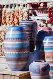 Cerâmica feito à mão imagens de stock