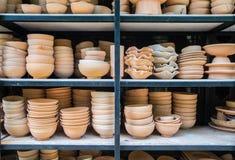 A cerâmica feito a mão imagens de stock