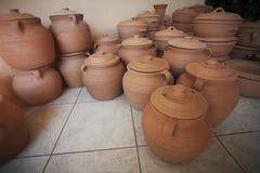 Cerâmica feito a mão Imagem de Stock