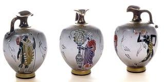 Cerâmica grega/siciliano 01 Fotografia de Stock Royalty Free
