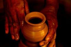 Cerâmica que faz pelo fazendeiro Imagem de Stock Royalty Free