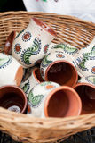 Cerâmica romena tradicional Fotografia de Stock