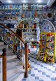 Cerâmica tradicional tunisina no mercado Imagem de Stock