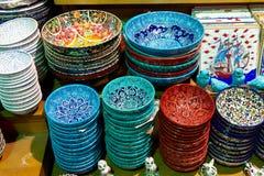 Cerâmica turca imagem de stock