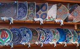 Cerâmica turca foto de stock