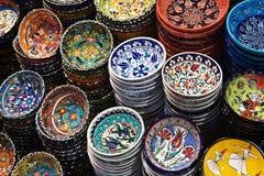 Cerâmica turca Fotografia de Stock