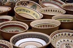 Cerâmica ucraniana tradicional Imagem de Stock