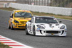 CER & CEV ENDURANCE CUP SPAIN Royalty Free Stock Images