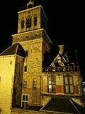Cer?mica de Delft del ayuntamiento imagen de archivo libre de regalías