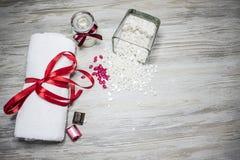 Cera bianca con cioccolato immagine stock