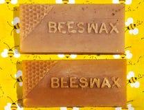 Cera de abejas Imagen de archivo libre de regalías