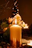 Cera de la vela Fotografía de archivo